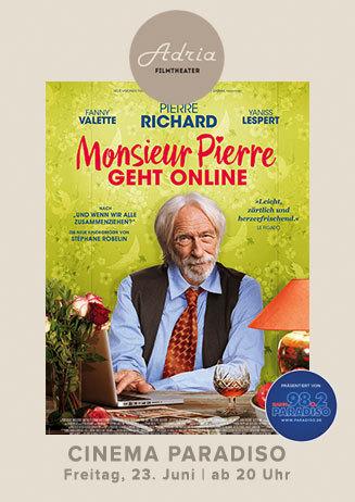 Cinema Paradiso Monsieur Pierre