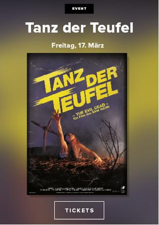 """Kult-Horrorfilm """"Tanz der Teufel"""""""