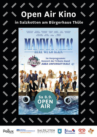 Open Air Kino Salzkotten: Mamma Mia! Here we go again