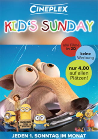Kid's Sunday im Cineplex