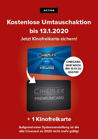 Premiumcard Umtausch