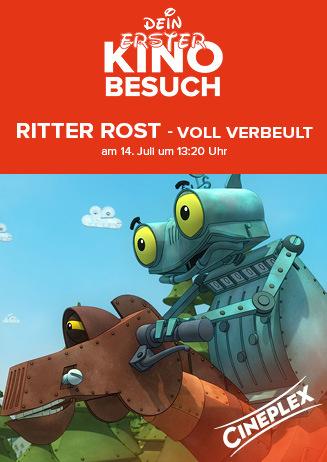 """Dein erster Kinobesuch: """"Ritter Rost - Eisenhart..."""""""