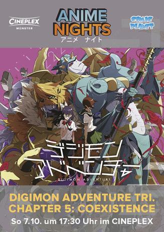 Anime Night: Digimon Adventure tri. Chapter 5: Coexistence