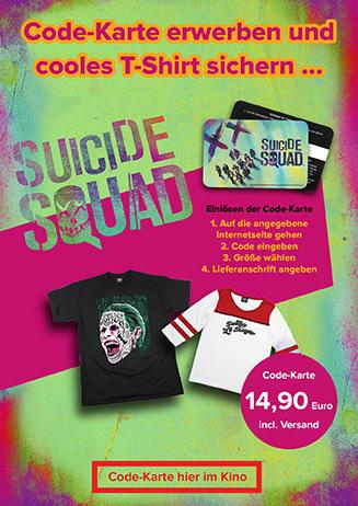 "Codekarten ""Suicide Squad"""