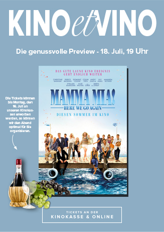 18.07. - Kino et Vino: Mamma Mia: Here We Go Again