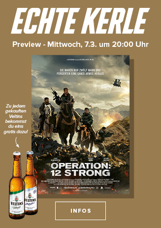 "Echte Kerle Preview von ""Operation: 12 Strong"""