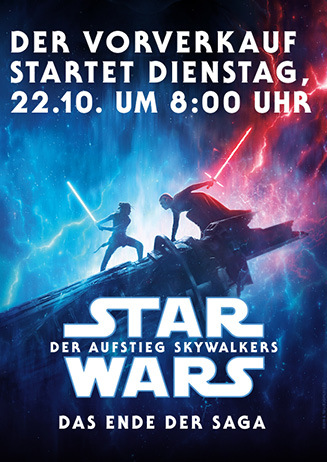 "VVK-Start: ""Star Wars: Der Aufstieg Skywalkers"""