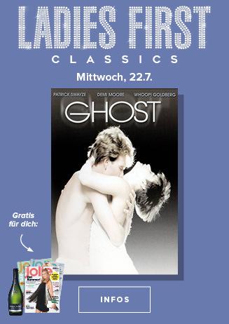 Special: Ladies First Classics - Ghost- Nachricht von Sam