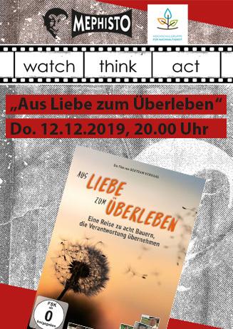 watch.think.act: Aus Liebe zum Überleben