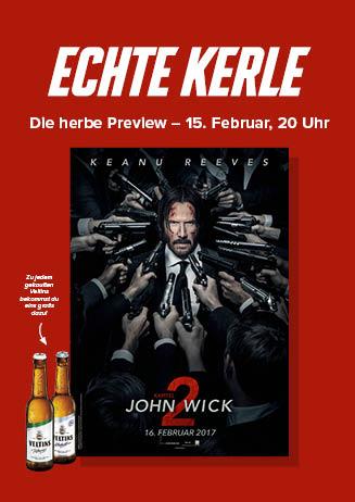 """Echte Kerle """"John Wick - Kapitel 2"""""""