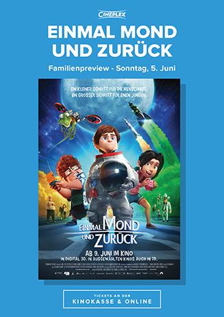 """Familien-Preview """"Einmal Mond und zurück"""""""