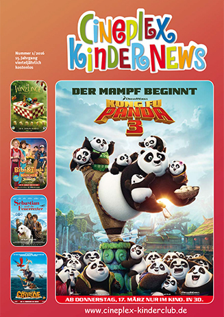 Cineplex Kindernews 1/2016