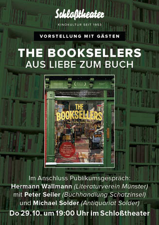 THE BOOKSELLERS mit Live-Gespräch
