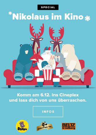 Nikolaus- Aktion im Cineplex Goslar