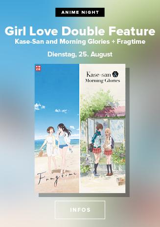 "200825 Anime Night Girls Love Double ""Kase-san..."" & ""Fragtime"""