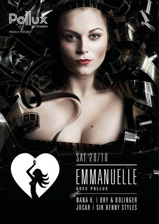 Party im Kino: Emmanuelle goes Pollux!