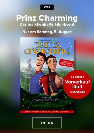 Das märchenhafte Sommer-Kinoevent! Prinz Charming