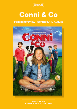 14.8. - Familienpreview: Conni & Co.
