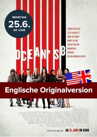 Englische OV: Ocean's 8