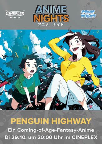 Anime Night: PENGUIN HIGWAY