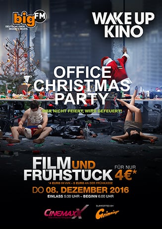 bigFM Wake Up Kino: Office Christmas Party