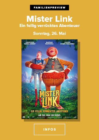 Familienpreview: Mister Link - Ein fellig verrücktes Abenteuer