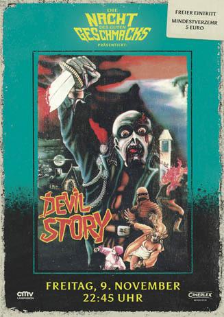 Die Nacht des guten Geschmacks: DEVIL STORY