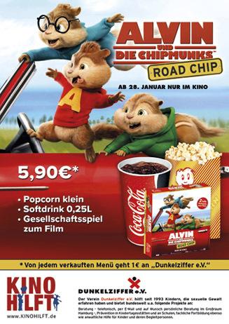 """""""Kino hilft""""-Aktion mit ALVIN"""