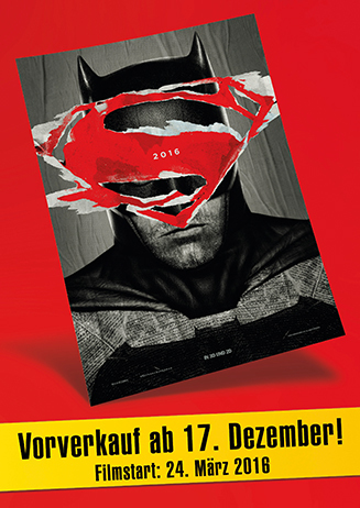 Vorverkauf - Batman v Superman