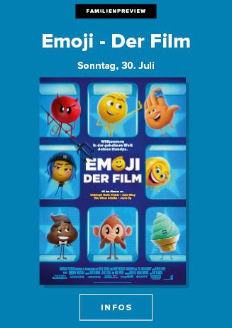 30.7. - Familienpreview: Emoji - Der Film