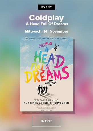 VVK: Coldplay - A Head full of Dreams