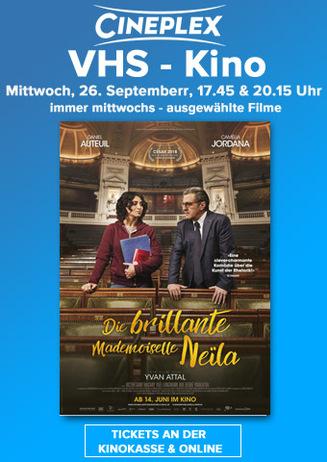 Die brillante Mademoiselle Neïla: VHS- Kino