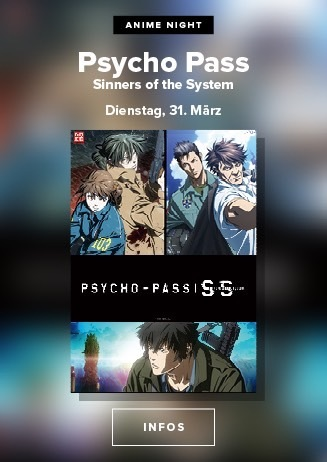 Anime Night: PSYCHO PASS - SINNERS OF THE SYSTEM