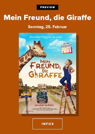Familienpreview: Mein Freund die Giraffe