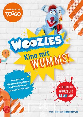Special: WOOZLES Kino mit Wumms 7.8. + 8.8