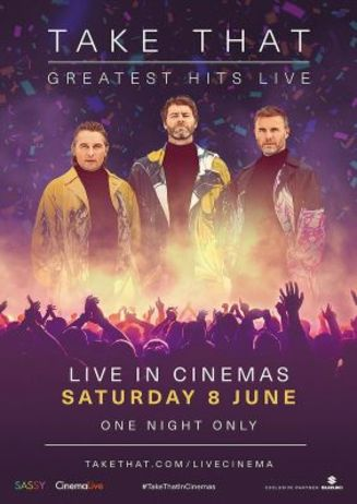 Live Konzert: Take That Greatest Hits Live 2019