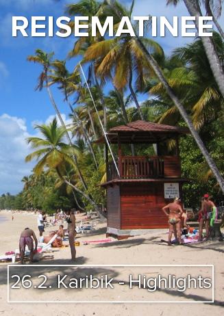 "170626 Reisematinee ""Karibik - Highlights"""