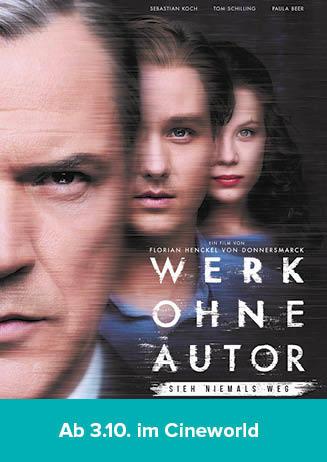 """181002 Filmstart """"Werk ohne Autor"""""""