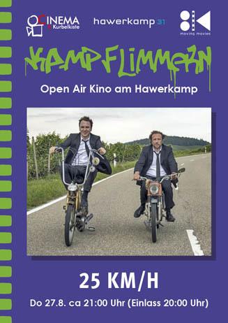 Kamp-Flimmern: 25 KM/H
