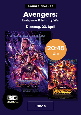 "Double Feature: ""Avengers: Infinity War + Endgame"""