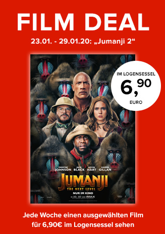 "Film Deal: ""Jumanji: The next Level"""