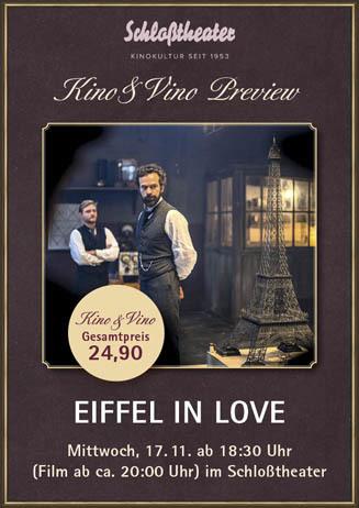 Kino & Vino: EIFFEL IN LOVE