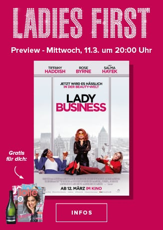 Ladies First Lady Business 11.03. 20.00
