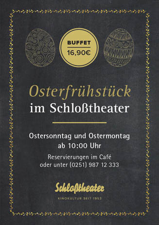 Osterfrühstück im Schloßtheater