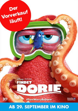 Findet Dorie - Vorverkauf