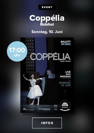 Bolshoi Ballett 2017/18: Coppelia