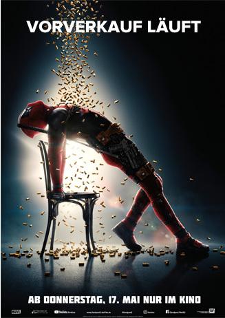 Deadpool 2: Der Vorverkauf läuft