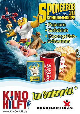 """Kino hilft""-Aktion zu SPONGEBOB"