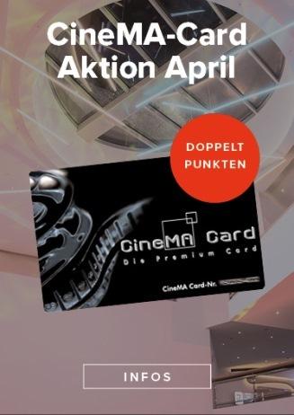 CineMa Card Aktion April