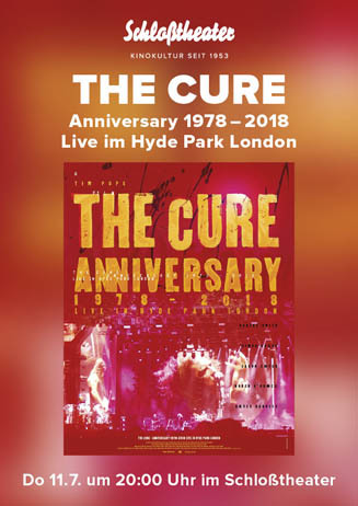 The Cure Anniversary live aus London
